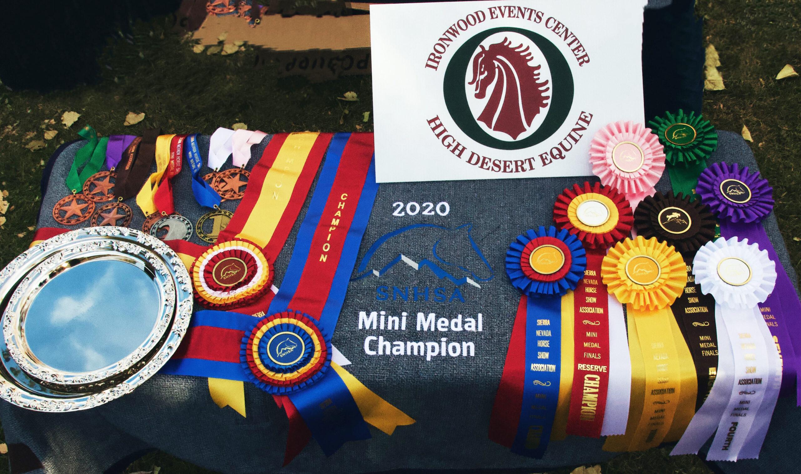 2020 Mini Medal awards